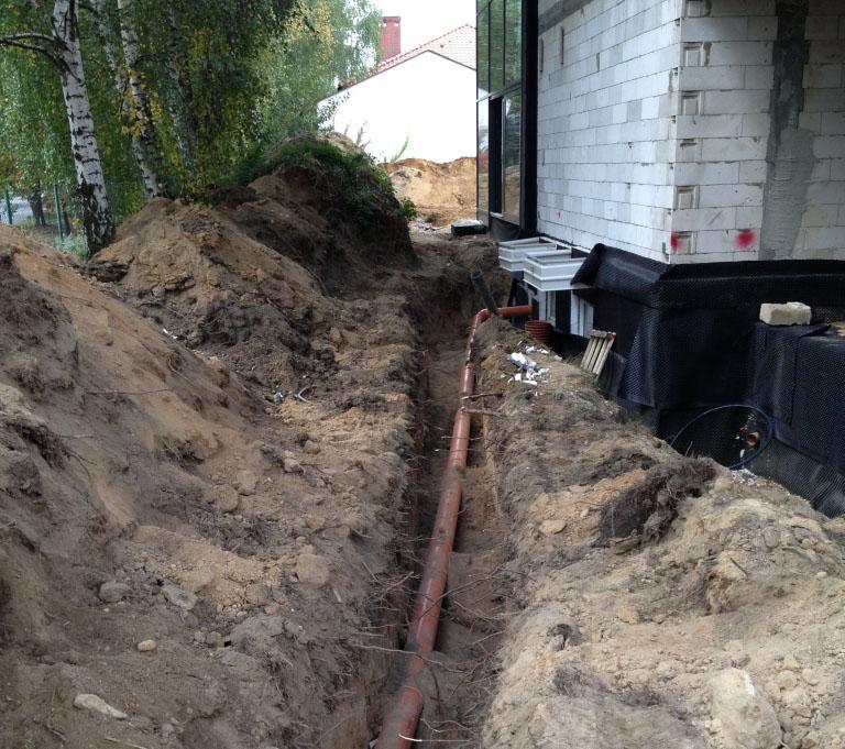 Oferta Przyłącza wodne i kanalizacyjne